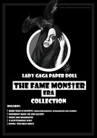 Lady Gaga Paper Doll: The Fame Monster Era by DibuMadHatter