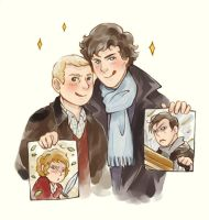 Sherlock bbc: Pictures by Gorryb