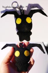 Heartless keychain from Kingdom Hearts! by SpiderRabbit