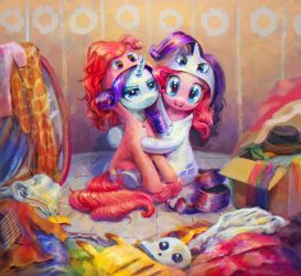 Smile, Rarity! Say 'cheese' by son-trava