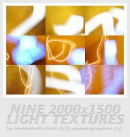 Nine 2000x1500 Light Textures by immortalis-stock