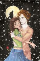 twilight_edward and bella by snozombie3