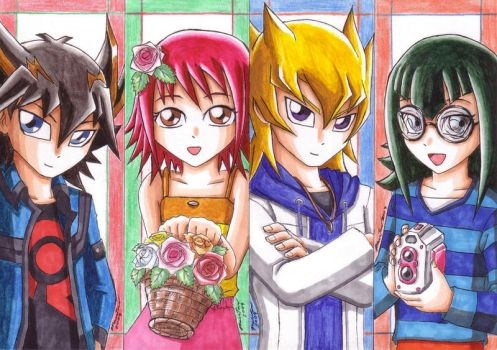 YGO 5Ds - Childhood by punkbot08