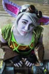 Tristana cosplay (Preview of Photoshoot)