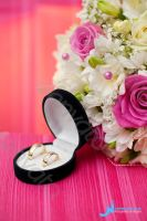 Wedding Rings with Flowers by Ondrejvasak