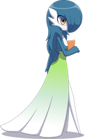 Eris, the Gardevoir [Commission] by Zacatron94