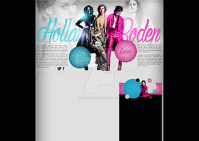 Ordered layout with Holland Roden by redesignbea