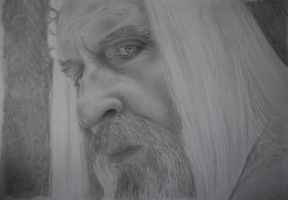 Saruman the White by bittenbitten