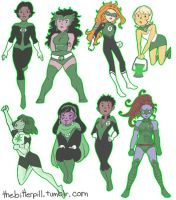 Lady Lanterns by lack-of-luck