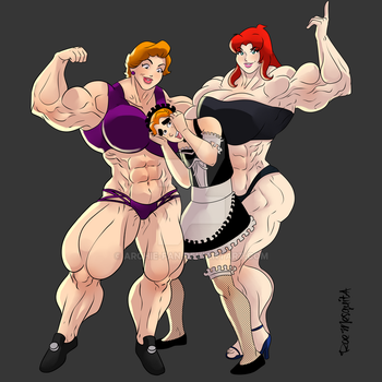 Archie's Mom Illustration 3.7 by Archie-Fan