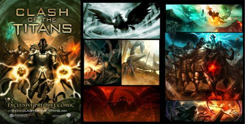 Clash of the titans - Pages by GENZOMAN