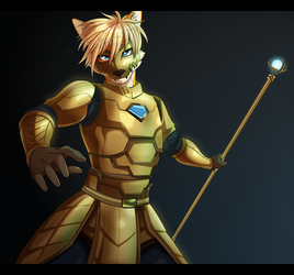 Commission: Armored Zephyr by MonochromeAgent