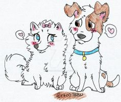 Gidget and Max by TheBestBadNewz