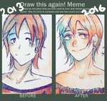 Before and After Meme: 2013 vs 2016 by RiceBalls4Me