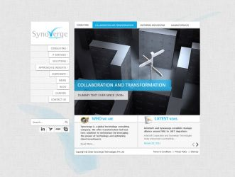 Synoverge Website -2 by crazyfcuker