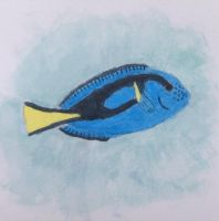 Regal Blue Tang by Xx-Vintage-Girl-xX