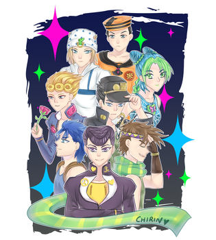 JoJo's Bizarre Adventure by China-Girl-Doll