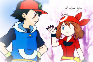 PKMN // May's Love For Ash by Tuff--Rubies