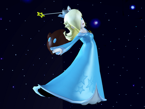 Rosalina in Space by Hakirya