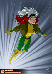 Patreon Request - Rogue by ClaraKerber