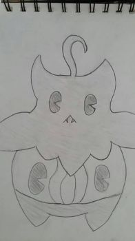 Pumpkaboo / Lampent Fusion by StarDust176