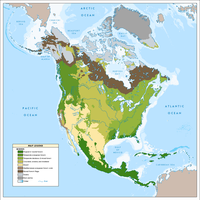 North American Biomes ca. 2049 by YNot1989