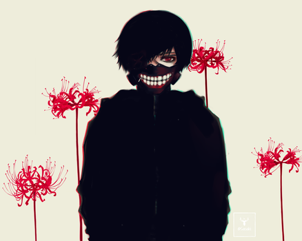 Kaneki by AliceInVoodooWorld
