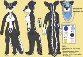 Saiyu Reference Sheet by Keikoku147