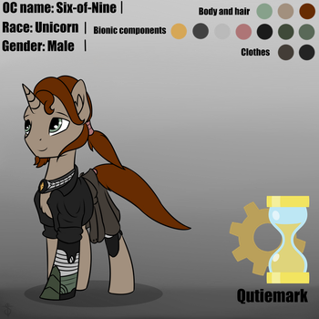 My OC reference by 6EditoR9