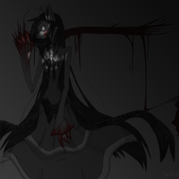 .: Doodle PhotoShop :. Gaja Darkness by skuIIy