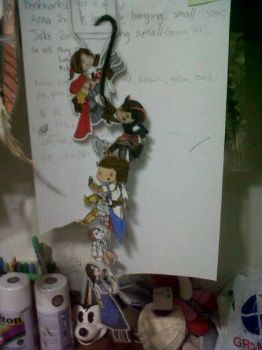 Longass Chain Of Bookmarks by AngelCat180799