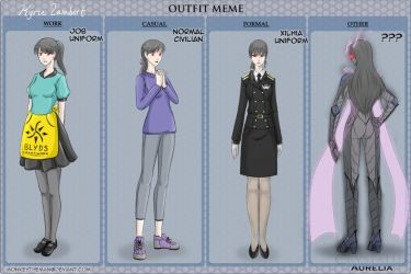 CA - Kyrie Outfit MEME by MonkeyTheArtist