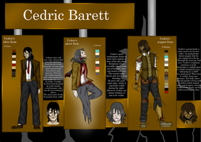 Ref: Cedric The Marionette by EvilCharlotte