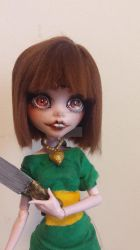 Chara Doll (Close up) by GothamGirlDC