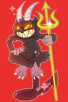 wow i cant believe the devil's a furry by PopAnimals
