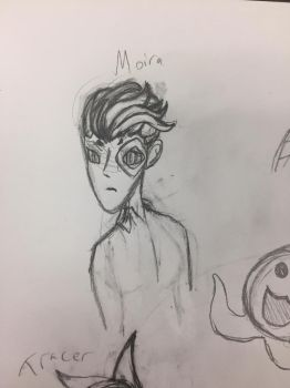Moira doodle by NightDreamer8