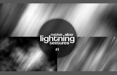 Texture | Lightning Textures 1 || by Alternxtive by alternxtive
