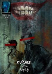 Butcher with a smile is live on Kickstarter by tgcomicartist