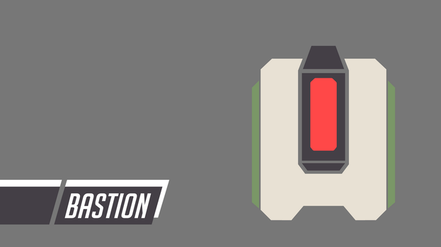 Overwatch | Bastion Icon Wallpaper [angry] by PERPU1