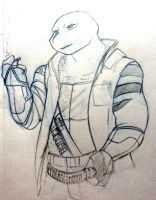 I will Draw Canon turtles one day by HoveringAbout