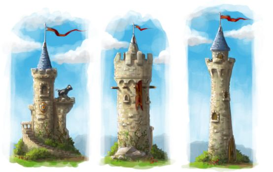 Tower concepts by bvigec