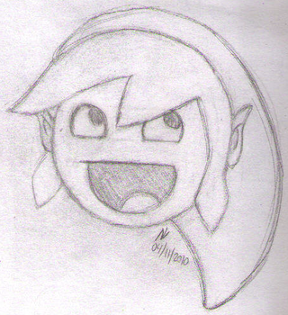 Awesome Link -sketch- by md427