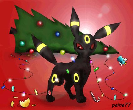 Umbreon's Xmas Pt. 1 by Paine77