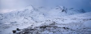 Winter view in Torridon by SebastianKraus