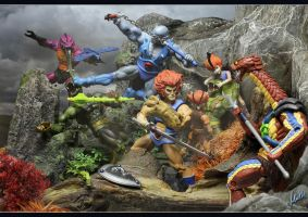 MOTU - Cats vs. Snakes by McMuth
