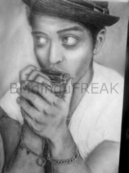 Bruno Mars by BMdinguFREAK