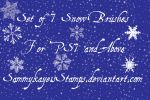Snow Storm Brushes by Sammykaye1sStamps