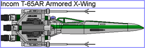 Incom T-65AR Armored X-Wing by GAT-X139
