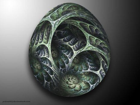 Dragon Egg II by psion005