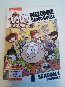 My Loud House S1V1 on DVD! by SmartCookieMan756